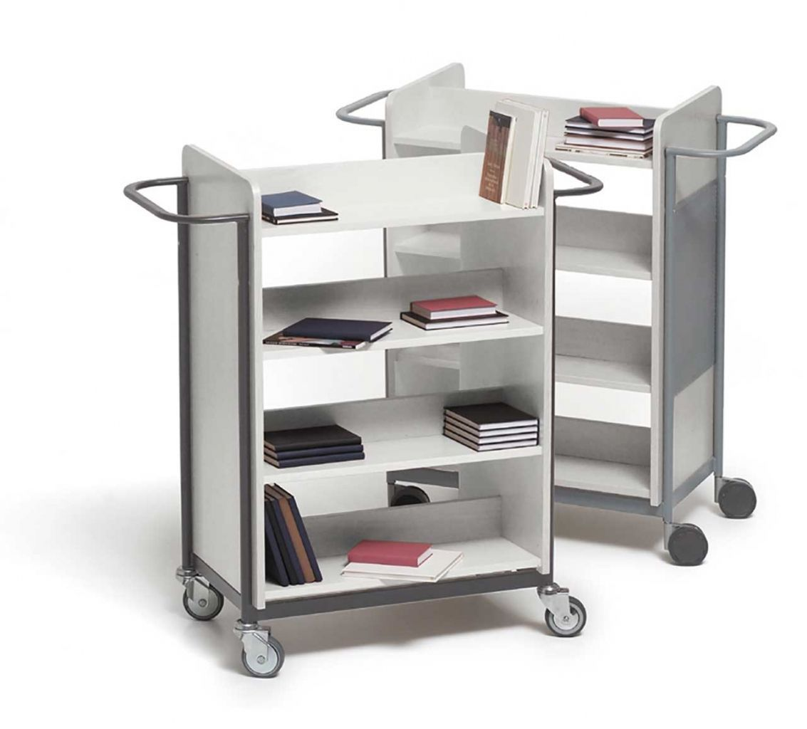 Two-Sided metal cart