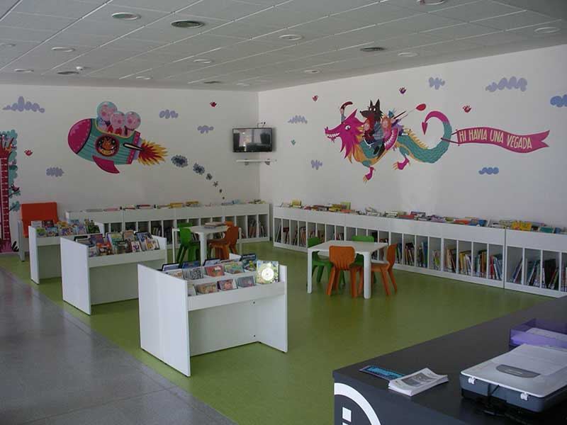 Biblioteca Sant Valentí de Navarcles (Barcelona)