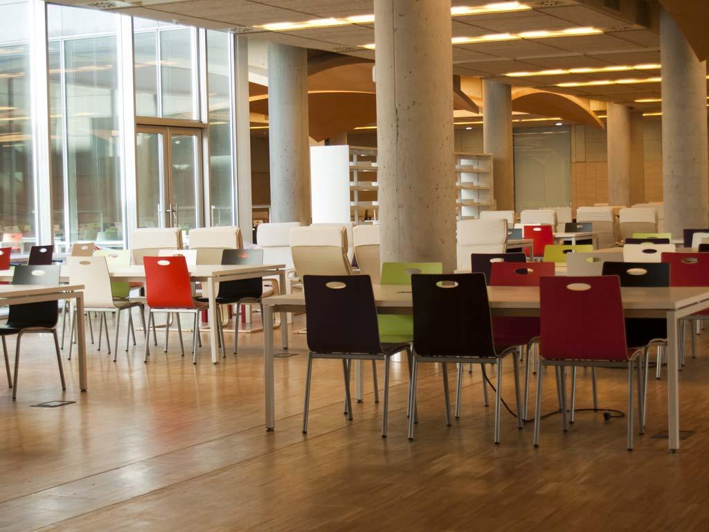 Biblioteca María Zambrano. Universidad Complutense de Madrid.