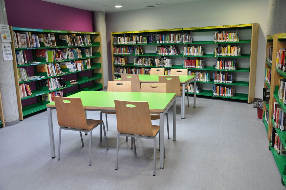 Biblioteca Municipal Luís Cubero. Fuentidueña de Tajo, Madrid