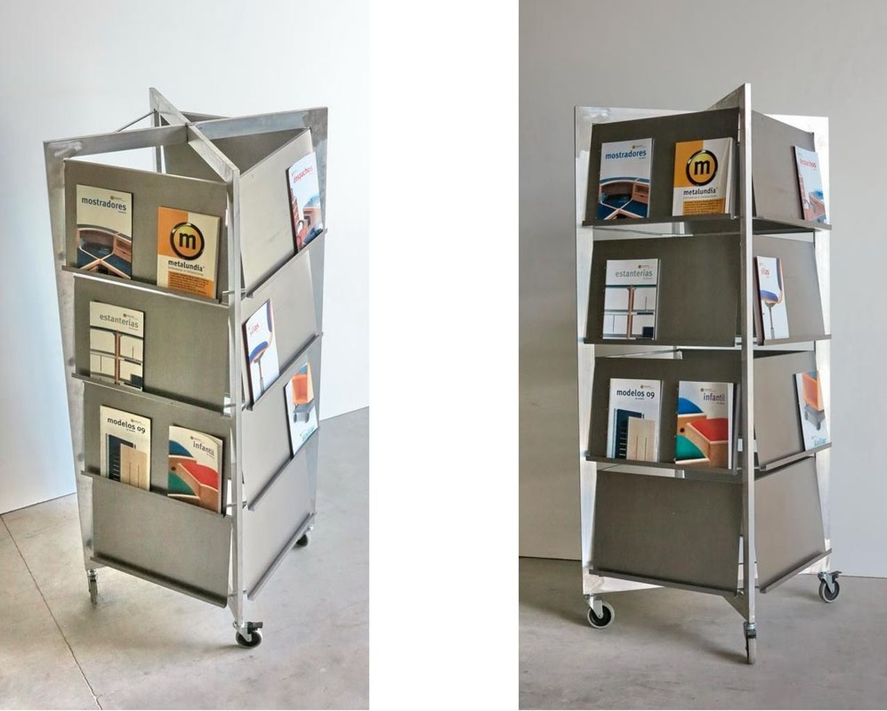 García Lorca New Items Display Stand