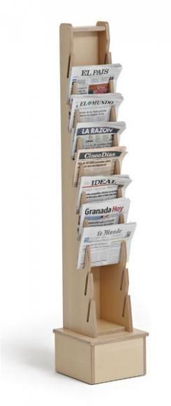 Expositor de Periódicos Vertical
