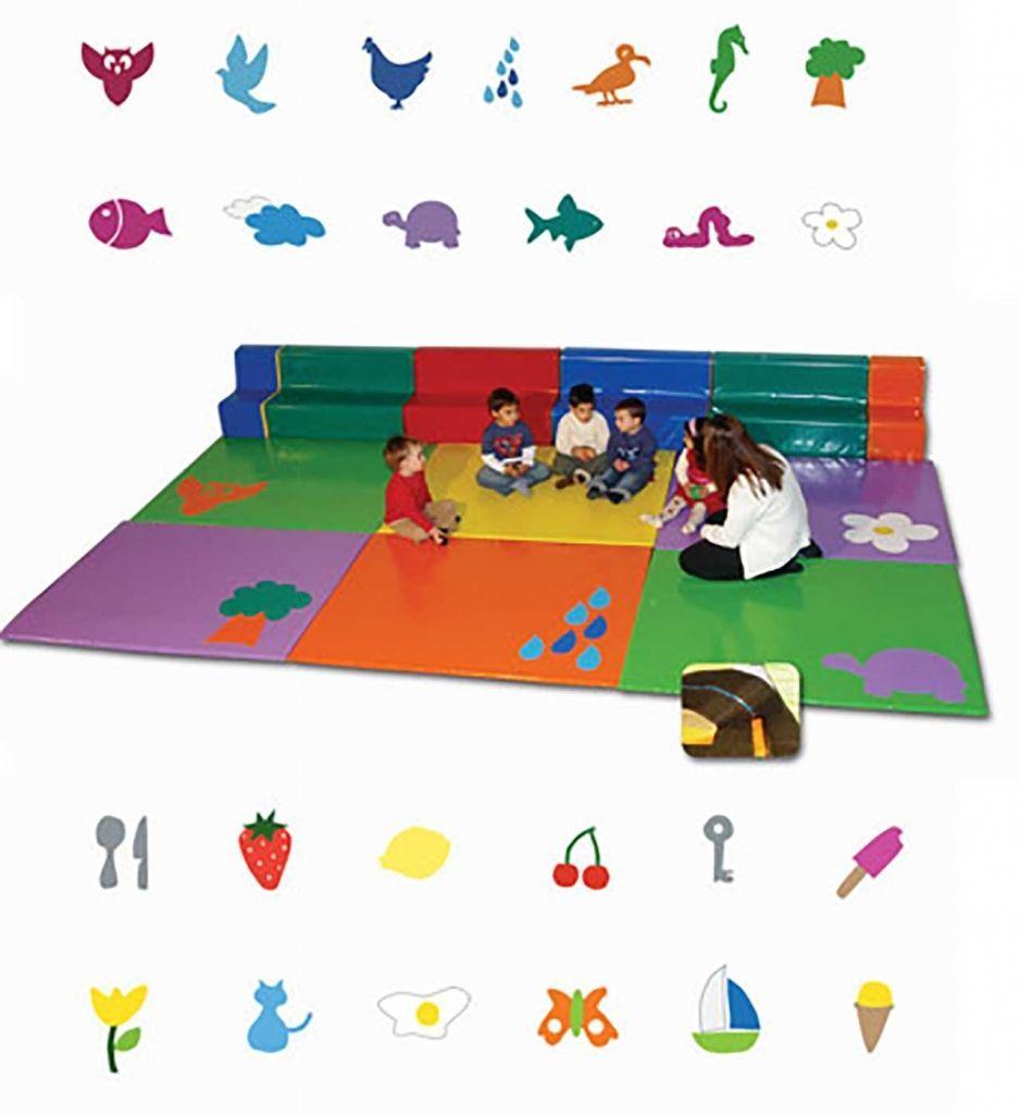 Suelo puzzle o tatami