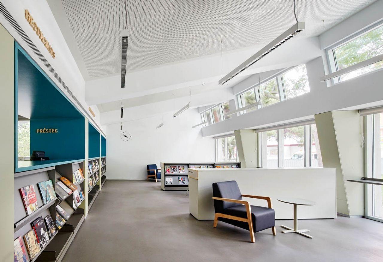 Biblioteca Montbau – Albert Pérez Baró (Barcelona)
