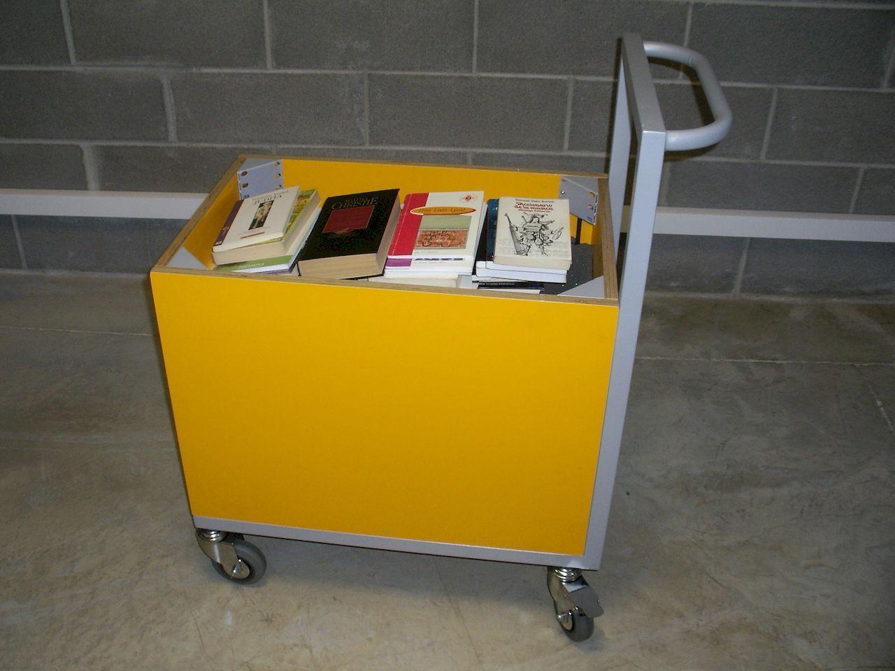 Carro Contenedor de Libros