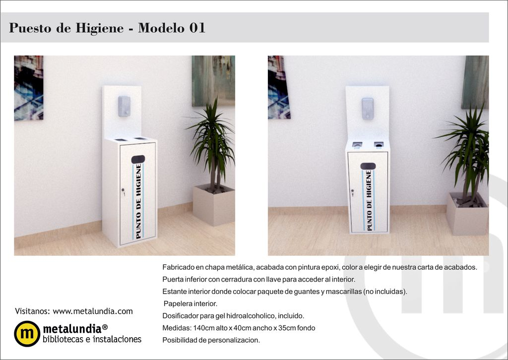 Puesto de Higiene – Modelo 01