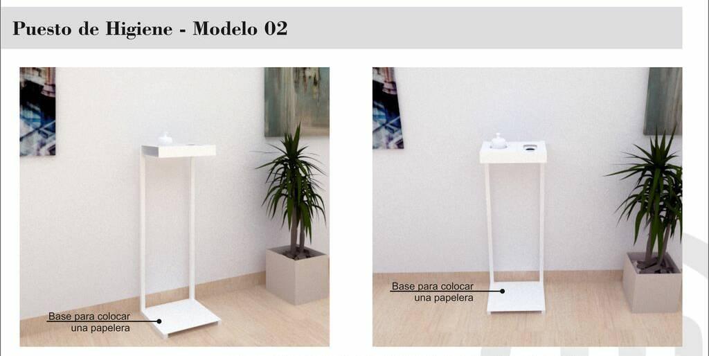 Puesto de Higiene – Modelo 02